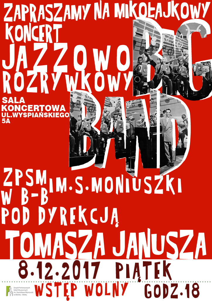 Big Band Plakat maly