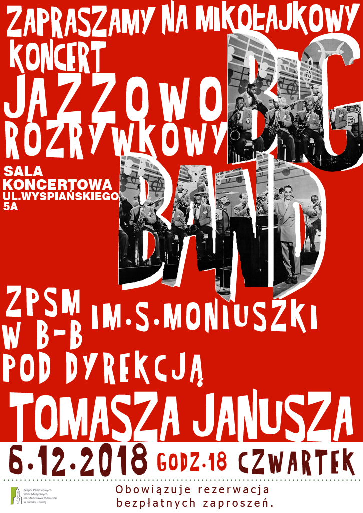 Big Band Plakat
